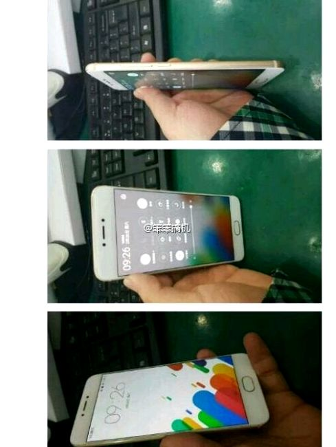 Meizu Pro 6 appeared in white and gold color