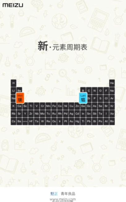 Meizu posted a teaser of the new Blue Charm