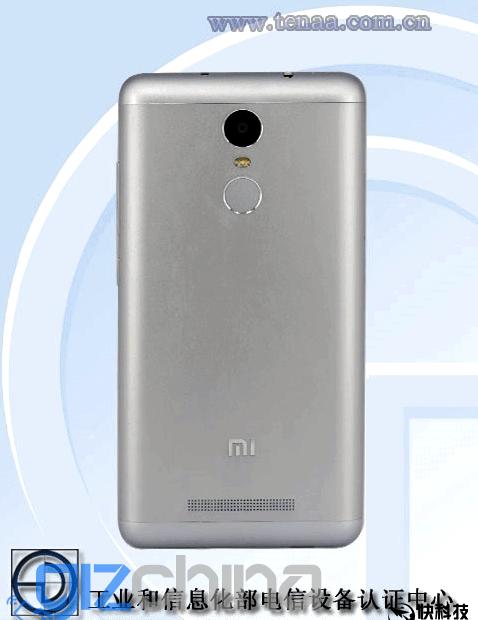 Metal Redmi Note 2 Pro appeared in TENAA