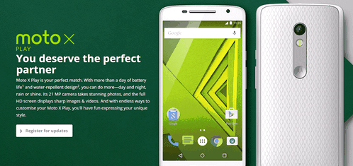 Motorola Moto X Play - between byudzhetkoy and flagship
