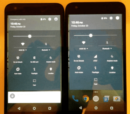 Nexus 5X got a problem with color display
