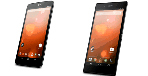 New smartphones and tablets from Google Play family