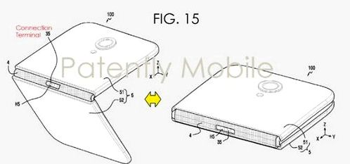 New Samsung patent discloses a collapsible design smartphone
