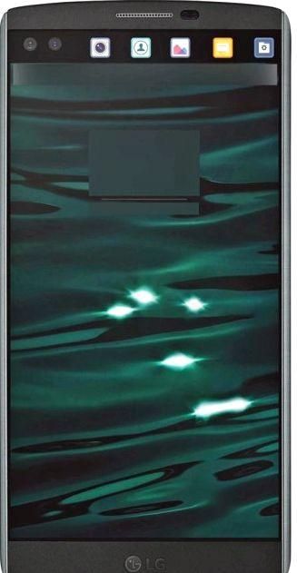 New render LG V10 reveals details of a second display
