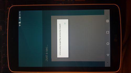 Obtaining root LG G Pad F7.0 LK430