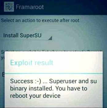 Obtaining root rights Micromax Canvas A1 AQ4502 root