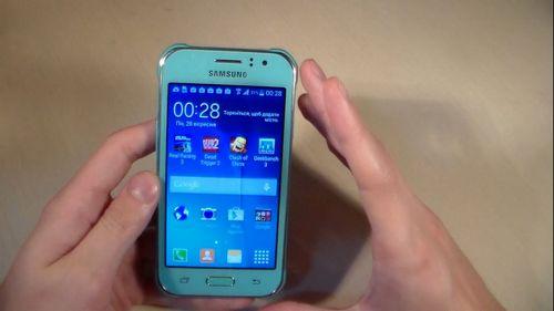 Obtaining root Samsung Galaxy J1 SM-J110H / DS