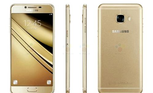 The official press renders Galaxy C5
