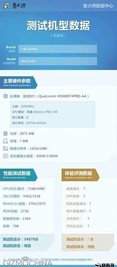 OnePlus X will get a processor with low GPU clock