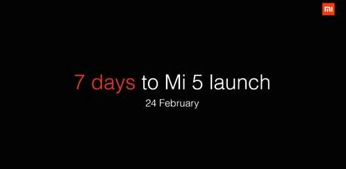 Published the first teaser video Xiaomi Mi5