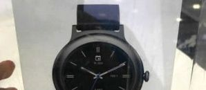 Published photos of the box and manual LG smart watches