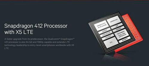 Qualcomm announces Snapdragon processors 412 and 212