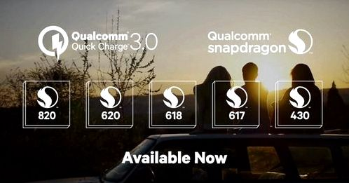 Qualcomm introduced Quick Charge 3.0