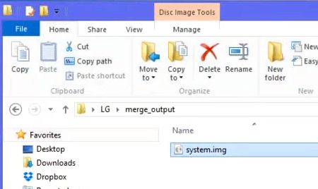 Unpacking LG firmware format KDZ and TOT | Guideroot