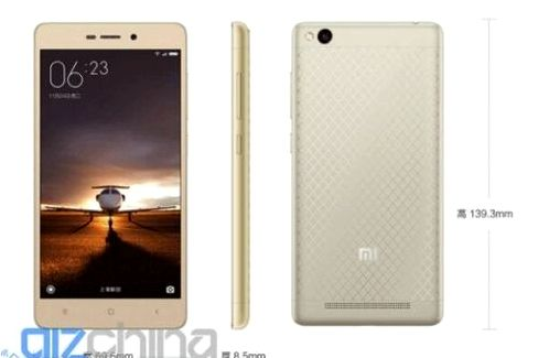 Redmi 3S: specifications and cost