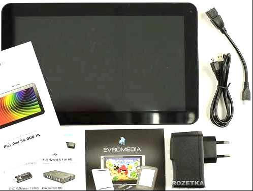 Reviews Evromedia Playpad 3G DUO XL review