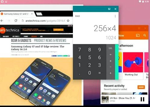 Mode & ldquo; free & ldquo; windows in Android N can be activated