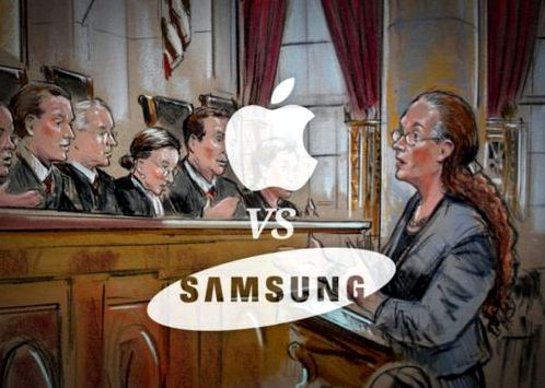 Samsung agreed to compensate the damage to Apple