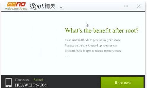 Root on the Lenovo A1000 tablet
