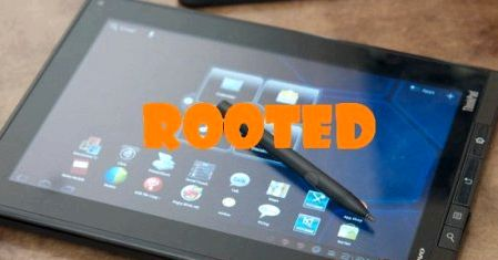Root-rights tablet Lenovo ThinkPad Tablet Guideroot