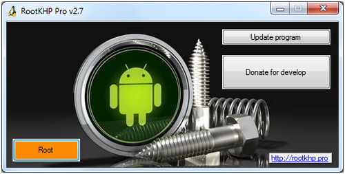 How to root Lark Cumulus 6 HD