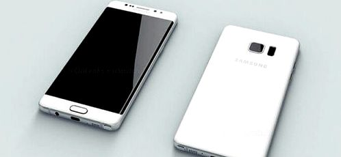 Samsung Galaxy Note 7 appeared on the renderers and video