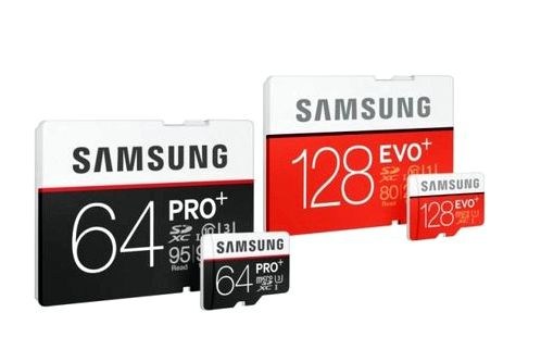 Samsung has developed with 90 MB microSD recording speed / s