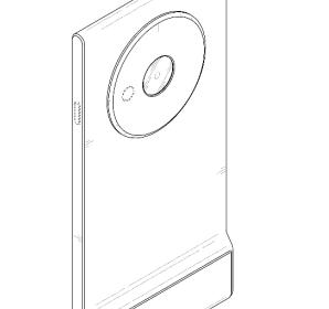 Samsung patented three concepts smartphones