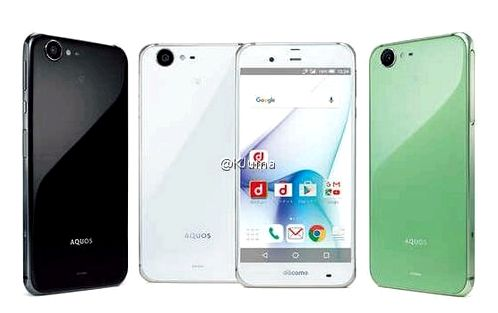 Sharp will release a flagship smartphone Aquos Zeta