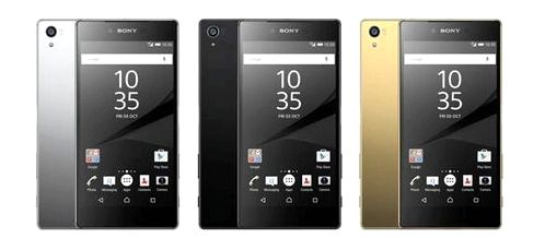 Sony introduced the Xperia Z5, Z5 Compact and Z5 Prime
