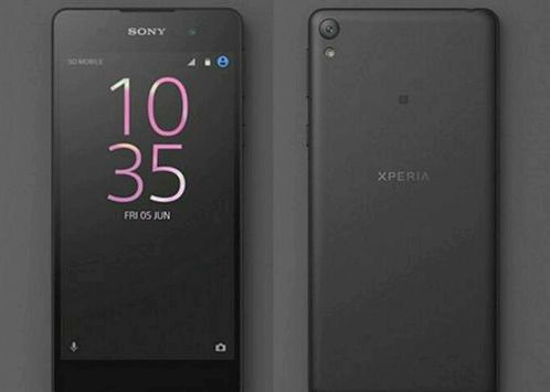 Sony posted render Xperia E5