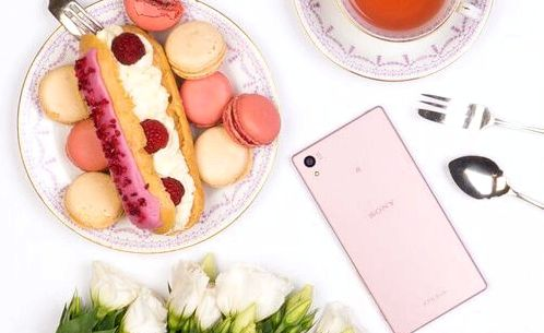 Sony introduced the pink version Xperia Z5