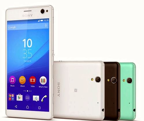 Sony introduced selfie smartphone Xperia C4