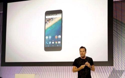 An official announcement of the Nexus 5X