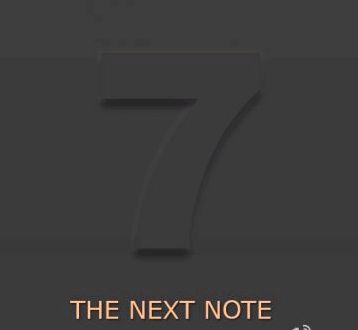 Teaser Galaxy Note 7 confirms the name of the device