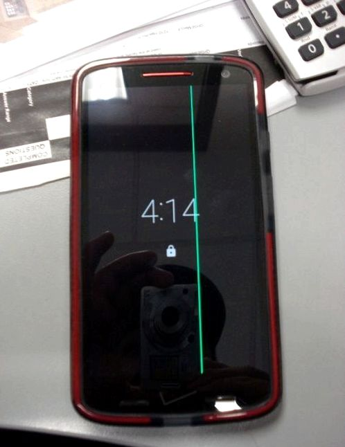 The Droid Turbo with the screen there are 2 problems