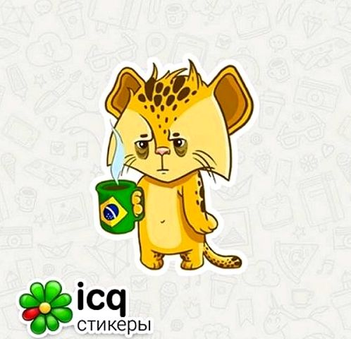 The ICQ for Android, you can send GIF