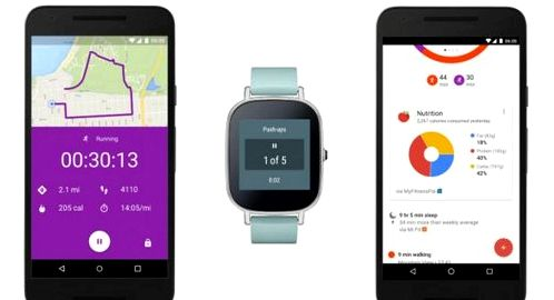 The updated Google Fit will be new monitoring functions