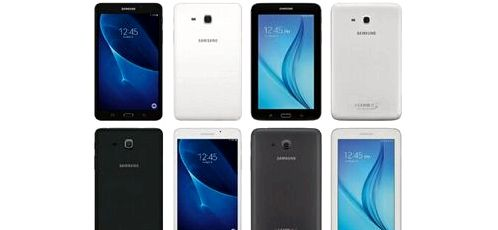 The network got the press renders Galaxy Tab A and Tab E