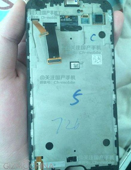 The leaked photos the front Xiaomi Mi5