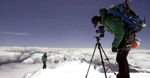 The Street View will Mont Blanc