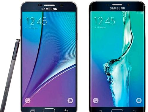 Renders Samsung Galaxy S6 Edge + and Galaxy Note 5 hit the net