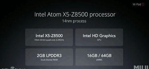 Xiaomi Mi Pad 2 announced