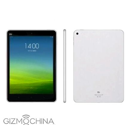 Xiaomi Mi Pad 2 appeared at the next image