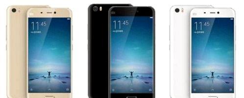 Xiaomi Mi5 appeared on the retailer's website