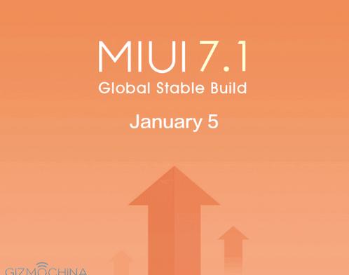 Xiaomi deploys update to MIUI 7.1