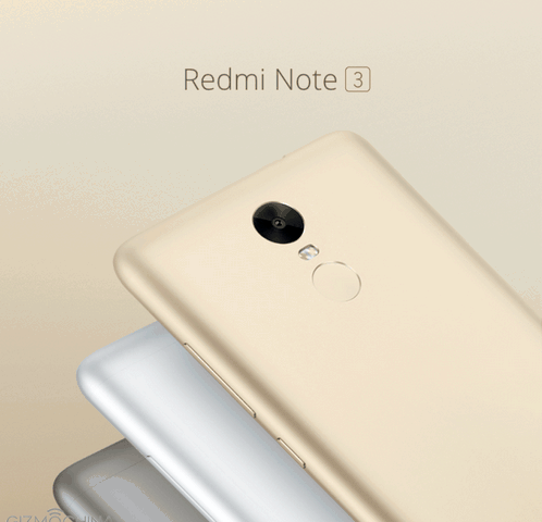Xiaomi Redmi Note 3 officially unveiled
