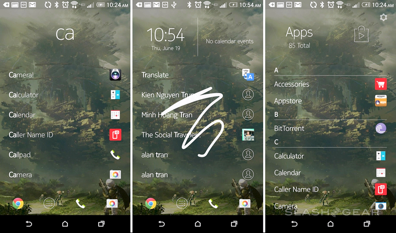 Z Launcher in Russian