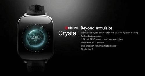 Zeblaze Crystal - available to watch with recognizable design