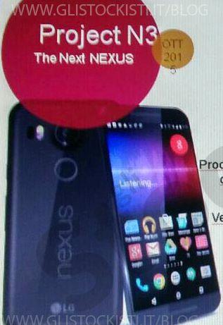 Live Photo Nexus 5X snared in black